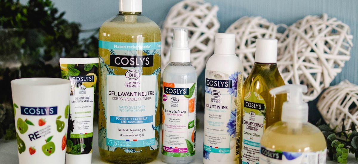 Coslys : la marque de soins et de beauté fun et bio pour toute la famille