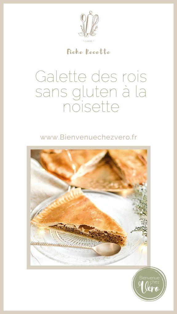 Pinterest - Epiphanie - Galette des rois sans gluten version saine