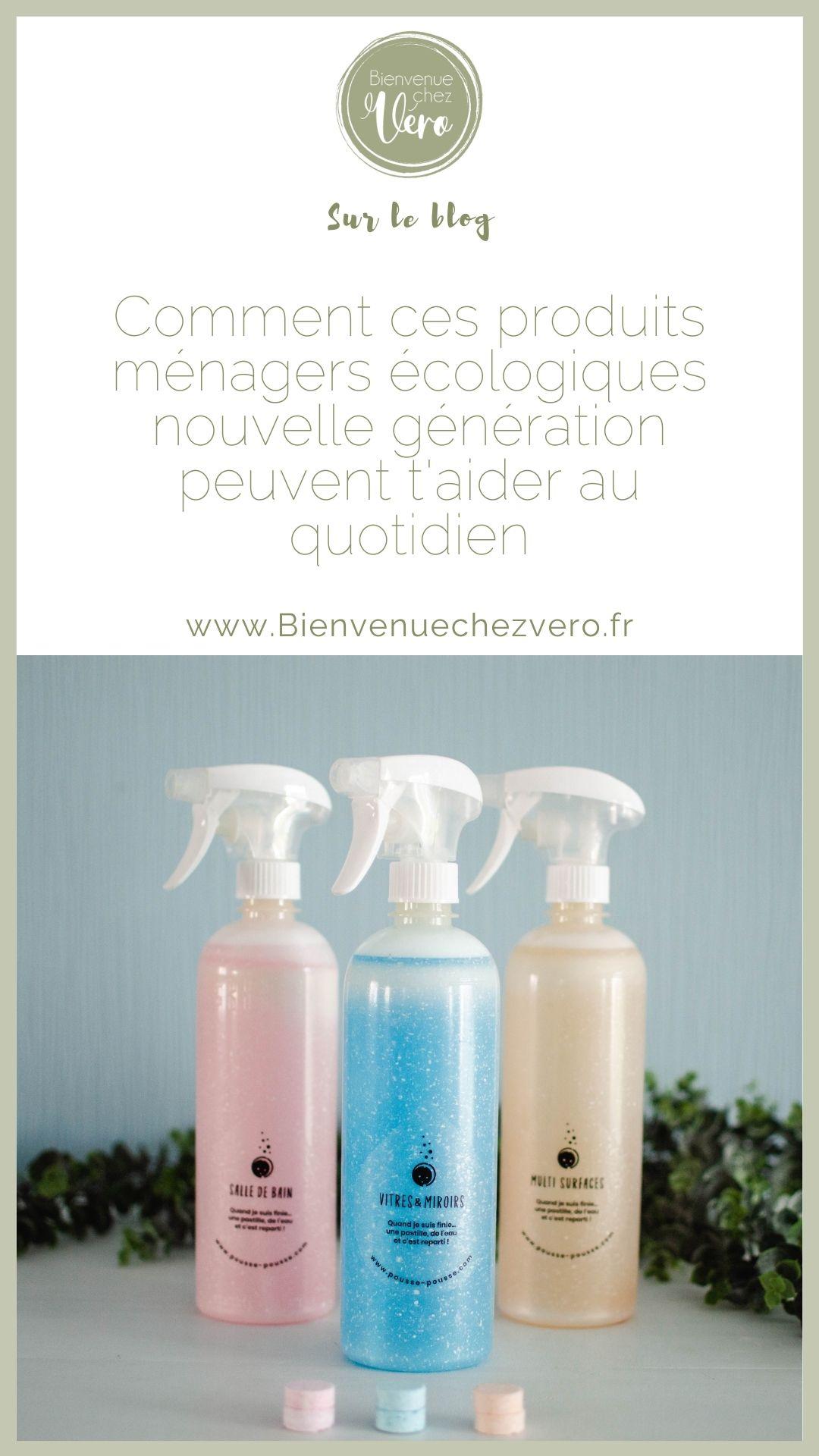 Des produits d'entretien écologique nouvelles générations arrivent sur le marché