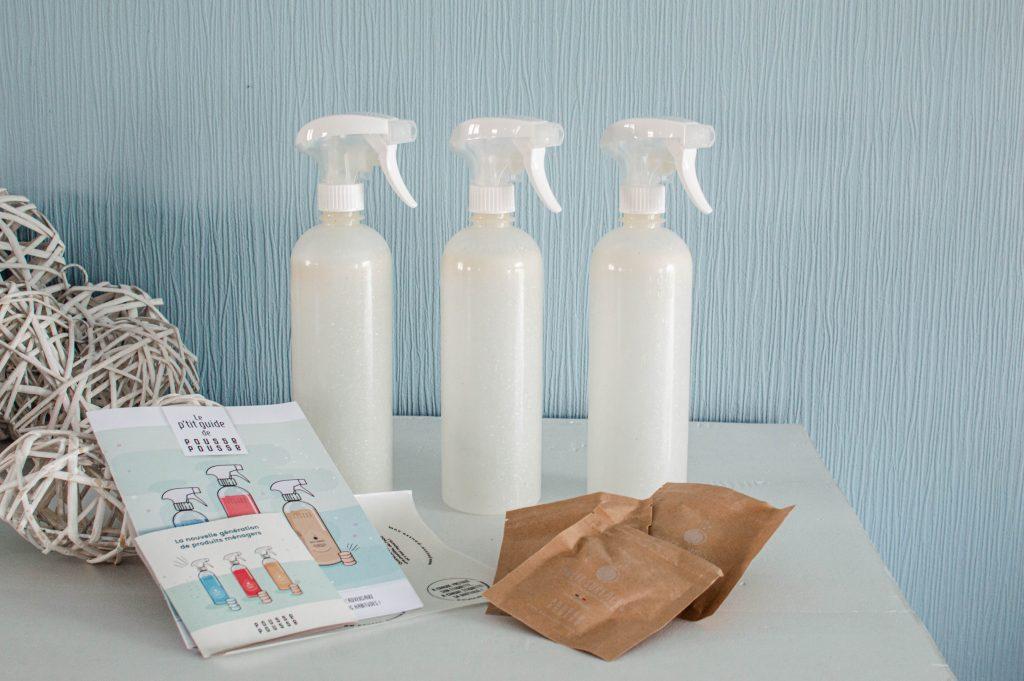 Kit de produits d'entretiens ménagers