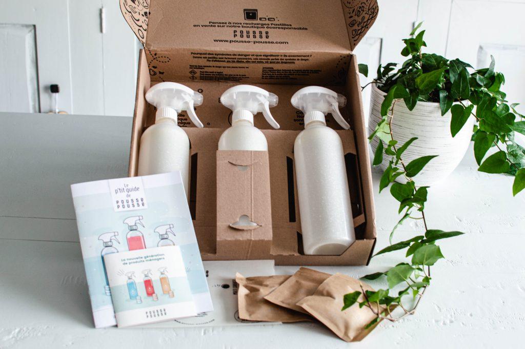 Kit de produits ménagers écologiques nouvelle génération