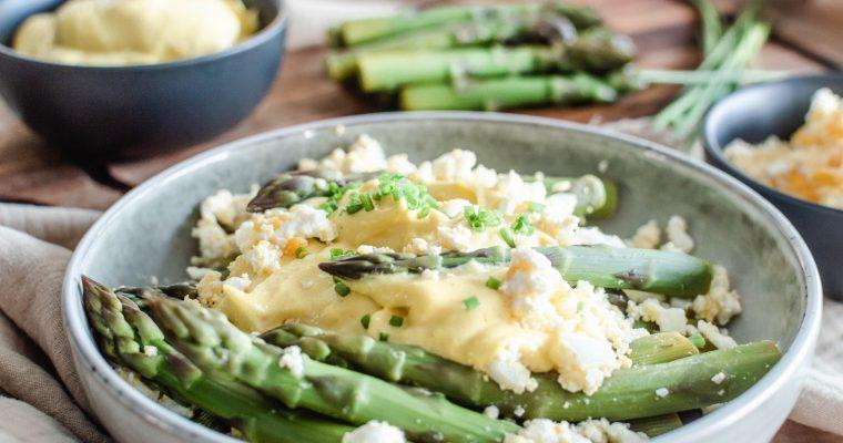 Salade d'Asperges à la Fêta | Un plat facile et original de Printemps
