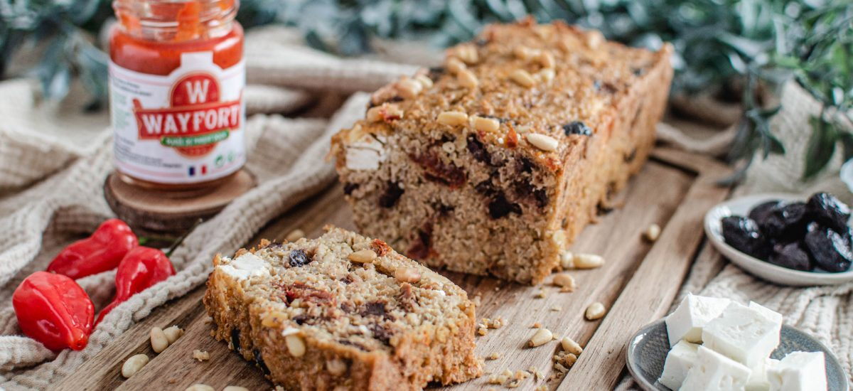 Cake salé healthy facile pour un apéritif explosif