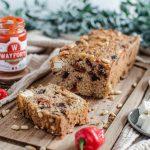 Cake salé healthy au quinoa et piment