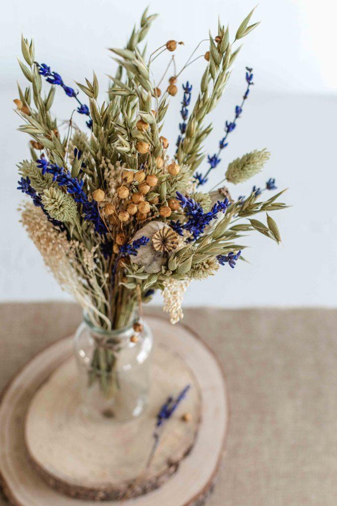 Bouquet final de fleurs séchées (4)