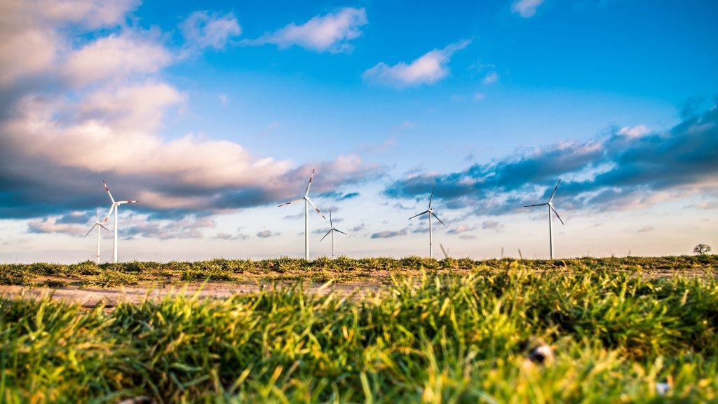Eolienne pour une energie verte en France