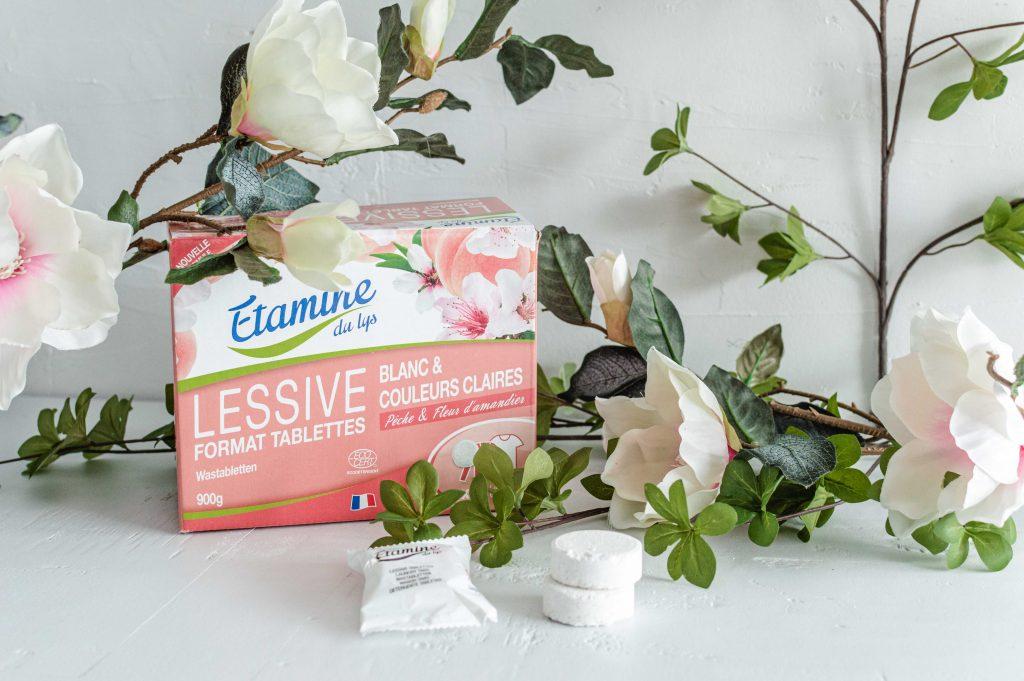 pastilles lessives pour couleurs claires