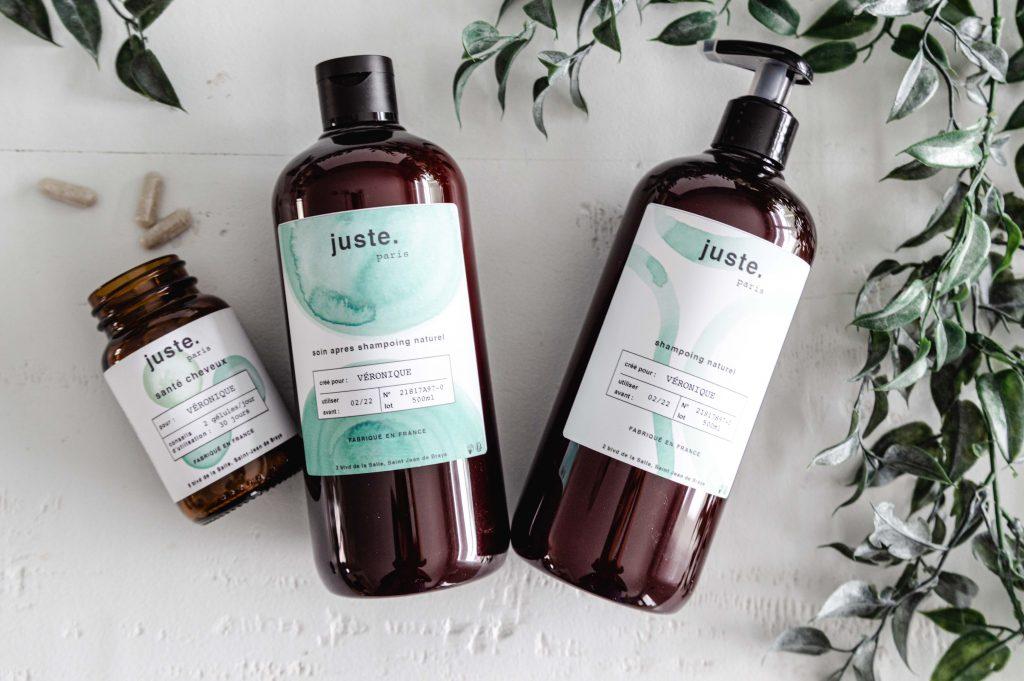 Juste, la marque de shampoing naturel et sur-mesure
