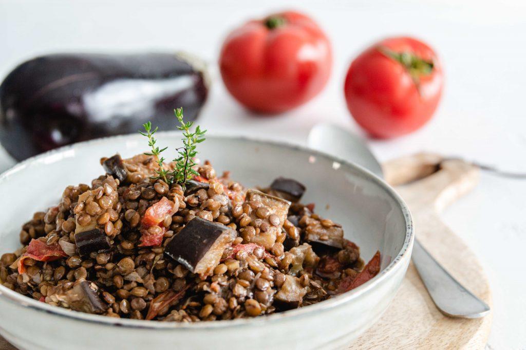 Lentilles aux aubergines et tomates (20)