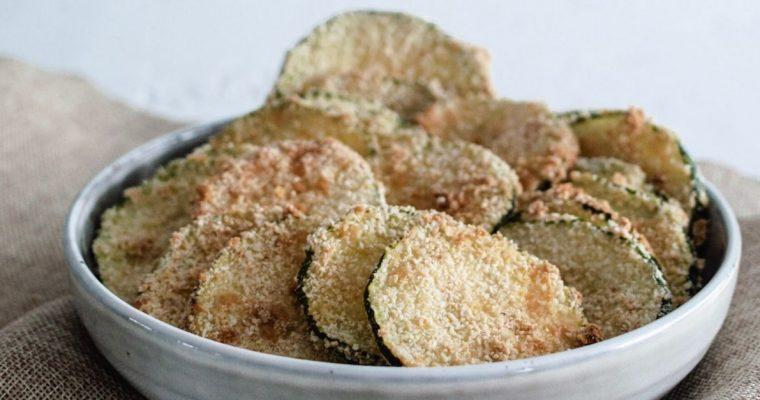 Comment faire des chips de courgettes au four